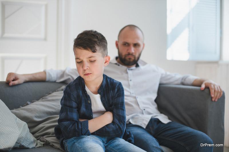 Attacking self-esteem of child
