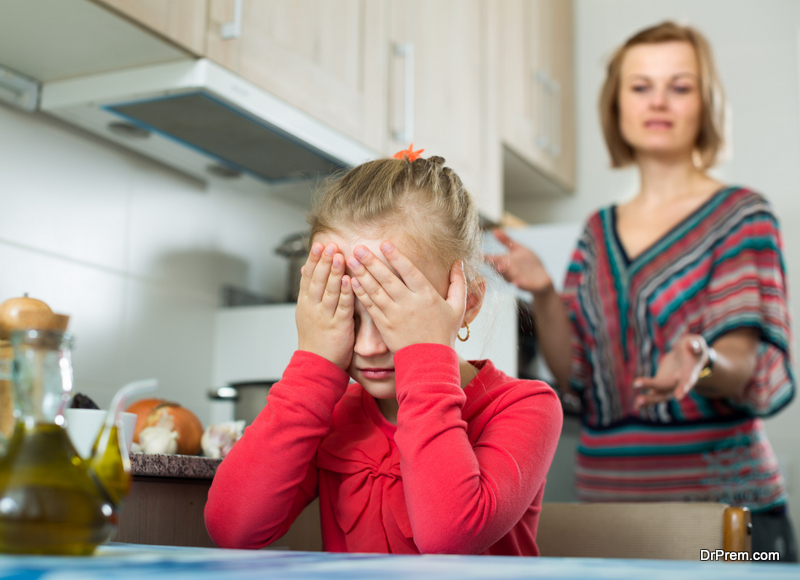 Blaming children for adult's mistakes