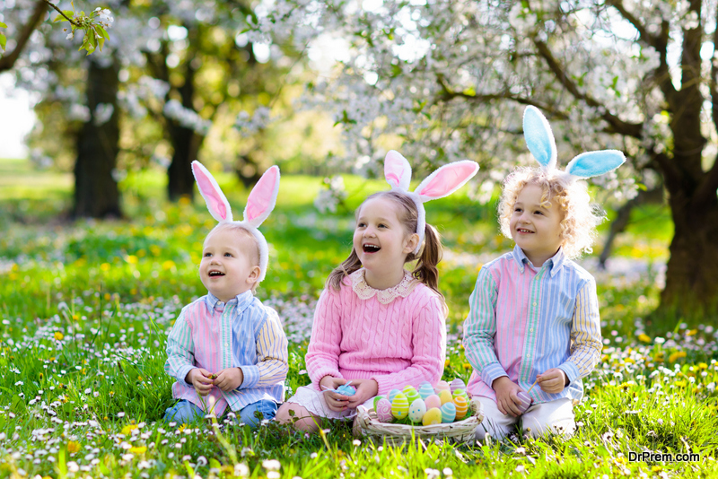 egg hunt for toddlers